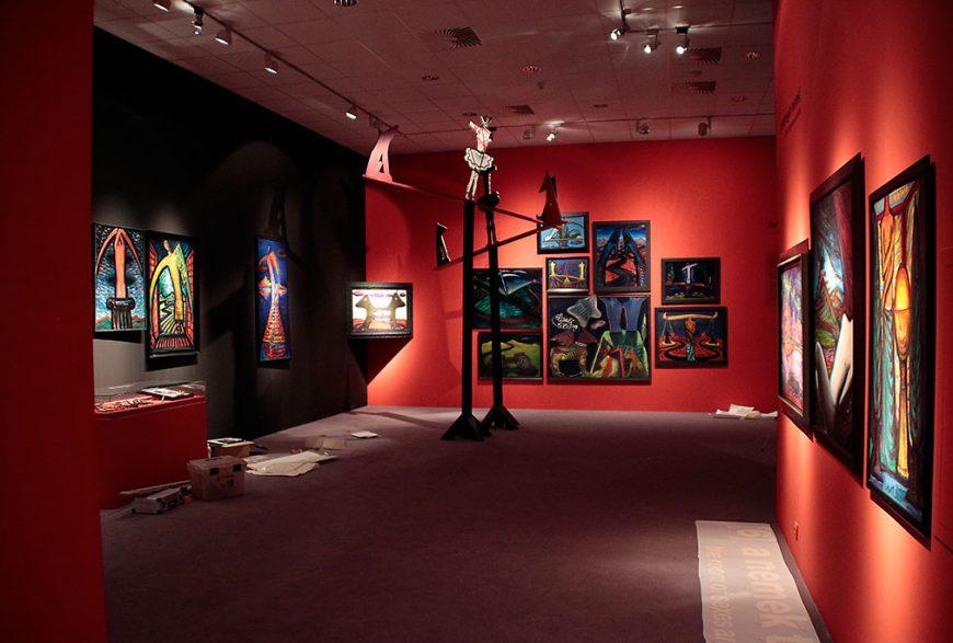 Egy kiállítás fényei – El Kazovszkij