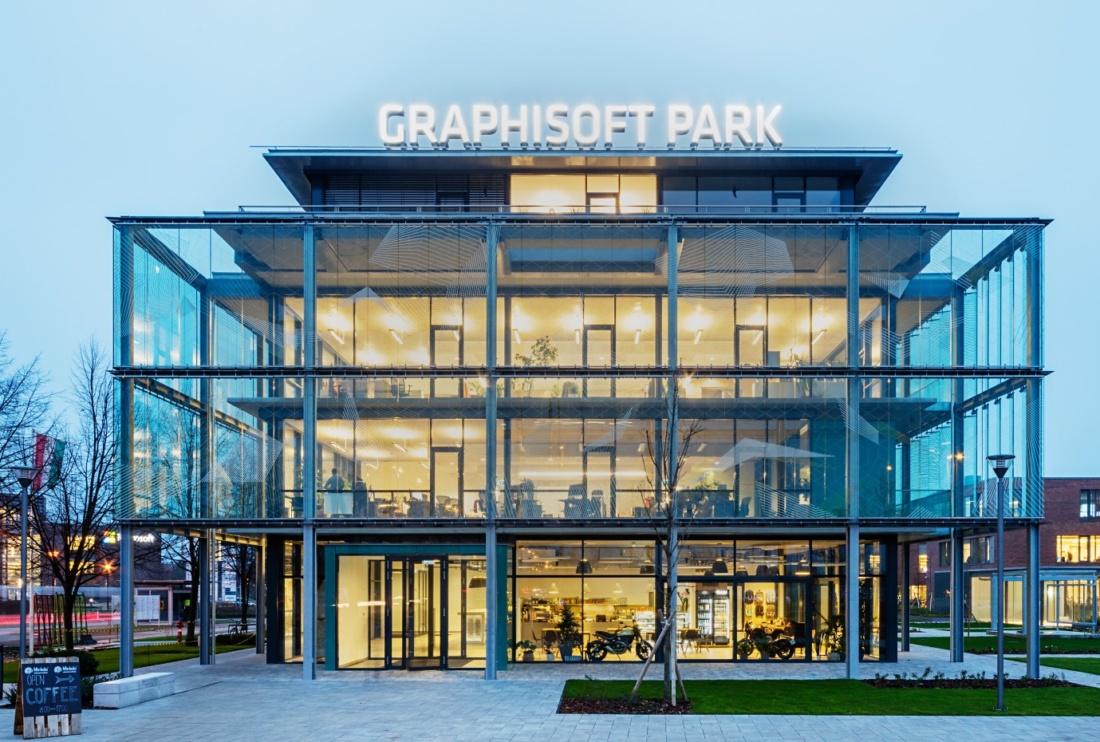 Graphisoft Park Fogadóépület – a nyertes projekt
