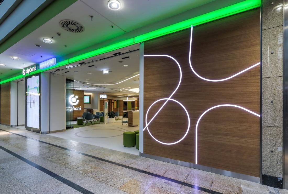 Innovatív fénymegoldások a bankfiókban