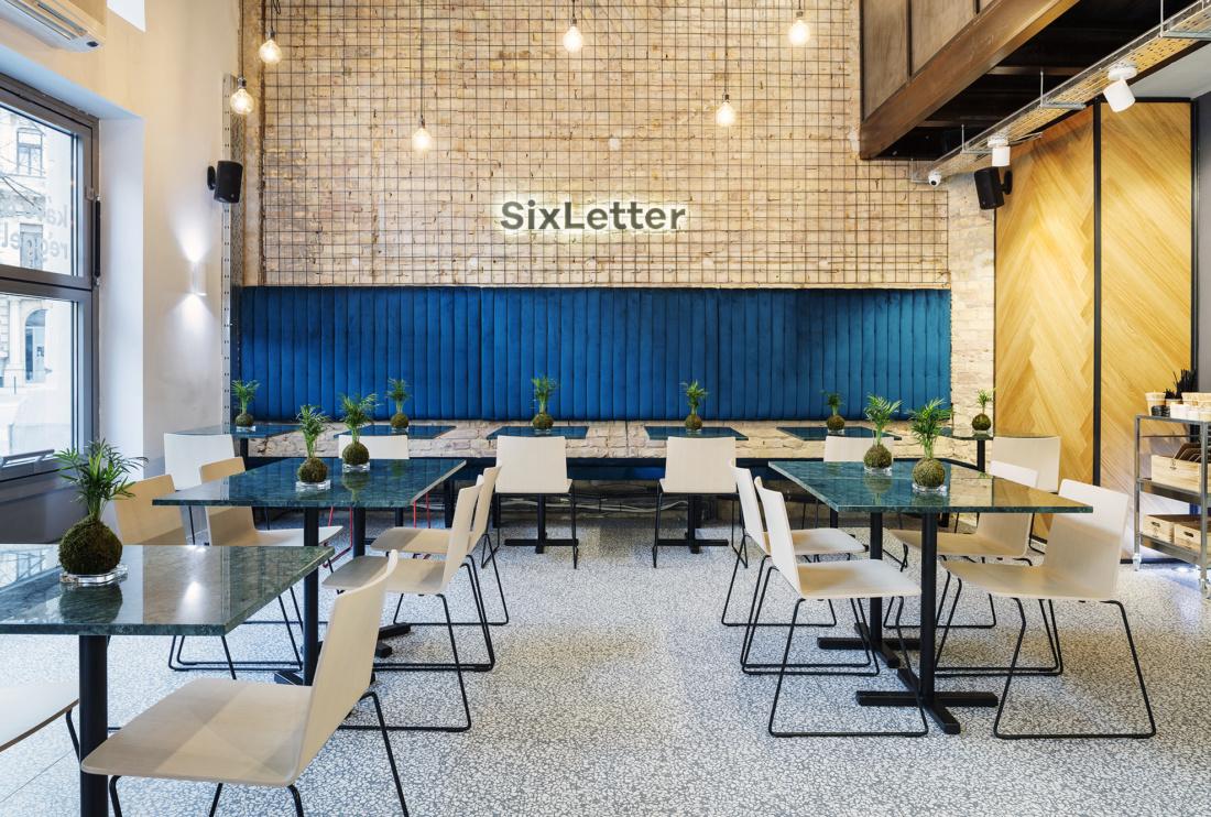 Sixletter – speciality kávézó sok fénnyel
