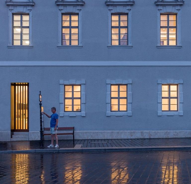 Budapest Építészeti Nívódíj 2019 – a régi Városháza világítása